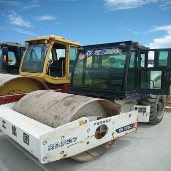 出售二手单缸轮压路机-5吨7吨10吨二手振动压路机