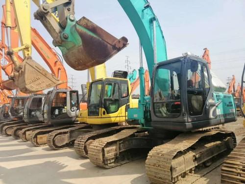 北京二手挖掘机市场,转让二手神钢200、210、260和350挖掘机,支持分期