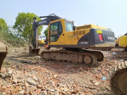 济南转让沃尔沃210/240/290和360二手挖掘机,大件无修包质量