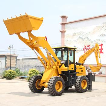 供应恒旺工矿15-26挖掘装载机 两头忙挖掘装载机 小型工程用两头忙