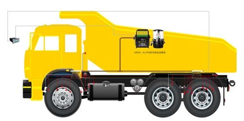 【奥特】水泥混凝土机械设备润滑系统 卡车自动润滑系统