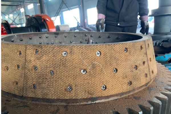 供應TALFRI打樁機卷揚機離合皮外剎皮剎車帶