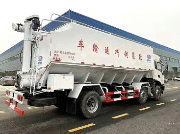 供应东风12方 22方 28方 30方 40方 散装饲料运输车  饲料车