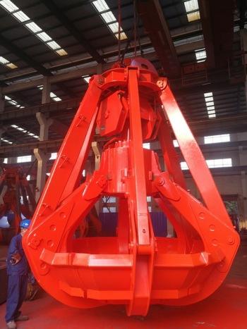 供无线遥控多瓣抓斗在上海格鲁博机械有限公司