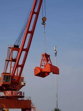 供船用无线遥控双瓣抓斗在上海格鲁博机械有限公司