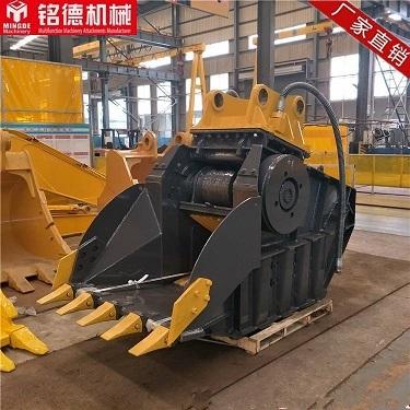 徐工鄂式破碎斗8-90噸機型挖掘機工作機構廠家直銷