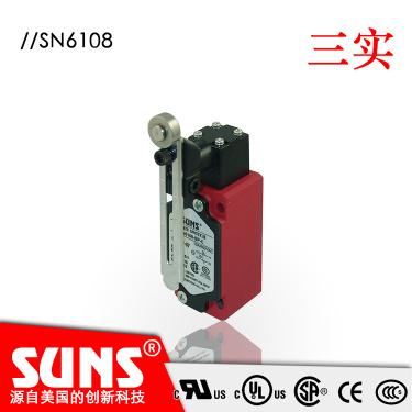供应SUNS美国三实行程开关SN6108-SP-C安全限位开关可转头部履带吊电气系统金属外壳