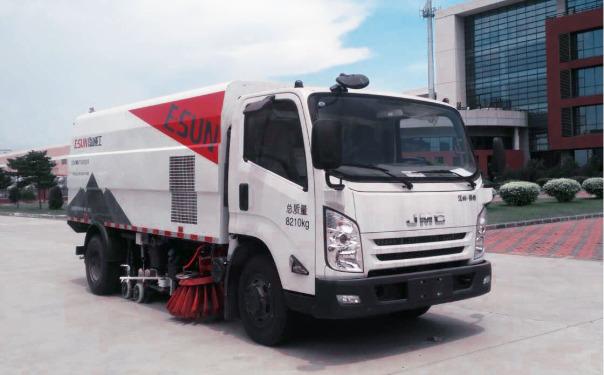 出租易山牌ESN5180TXS洗扫车湿扫车(包维修)