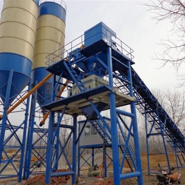 出售二手三一HZS80混凝土搅拌站大型工程混凝土机械个人转让