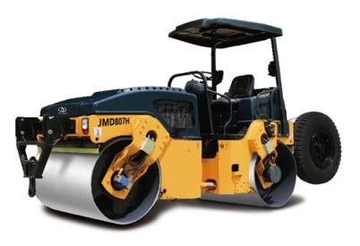 江苏骏马 供应JMD807H全液压双钢轮振动振荡压路机压路机