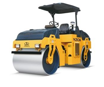 江苏骏马 供应YZC6/YZDC6 双钢轮振动振荡压路机