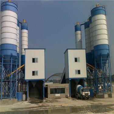 出售二手三一HZS25混凝土搅拌站小型工程建筑设备整体转让