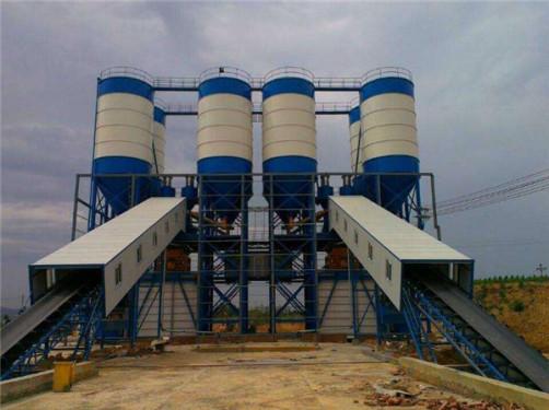 出售二手三一HZS60混凝土搅拌站大型工程建筑机械低价转让