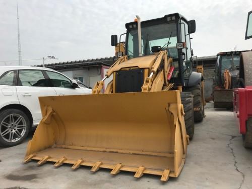 出售二手柳工CLG777A挖掘装载机