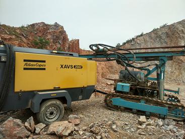 维修保养南方路机潜孔钻机空压机维修保养