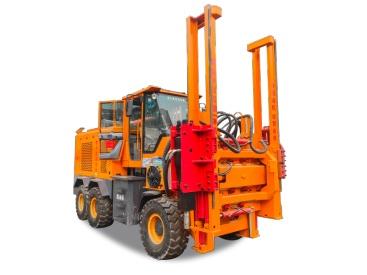 供应6108(15-15)公路护栏钻孔机高速路打桩机