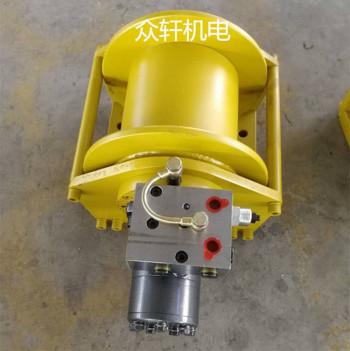 黑龙江供应1.5吨随车吊液压卷扬机起吊液压绞车可自由下放
