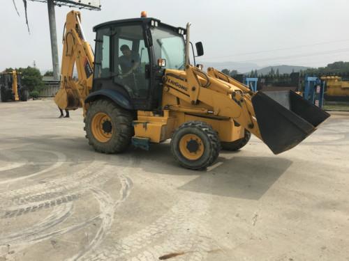 出售二手柳工CLG766A挖掘装载机