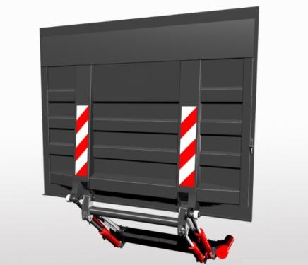 东莞1.5吨2吨汽车尾板维修回收