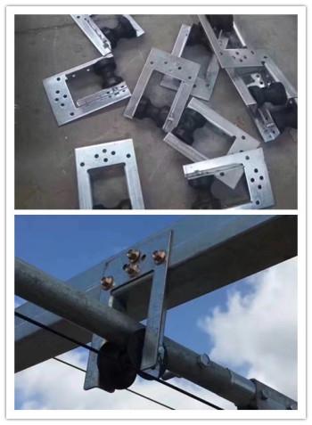 供应门型吊轮温室遮阳配件门型吊轮厂家批发外遮阳配件支撑轮