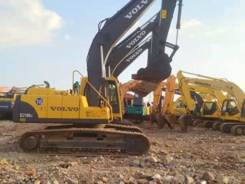 长沙原装进口二手挖掘机,沃尔沃210、日立200、神钢210等