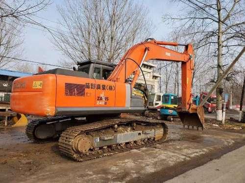 银川出售二手日立240-3G挖掘机,二手挖掘机市场,个人二手挖掘机转让