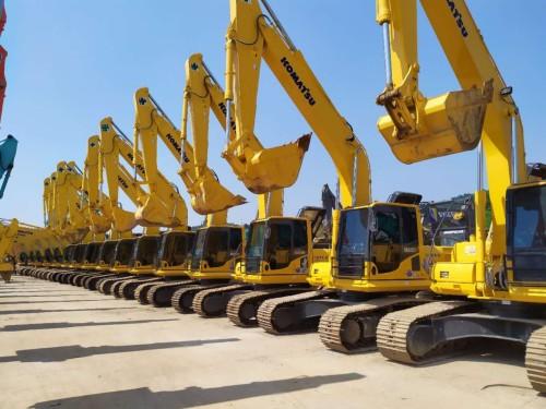 西藏转让18新款小松200 220和240二手挖掘机,质保三年