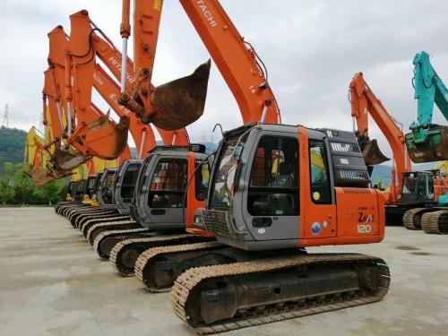 拉萨专业经营日立120、240和350二手挖掘机,手续全,购机包送货