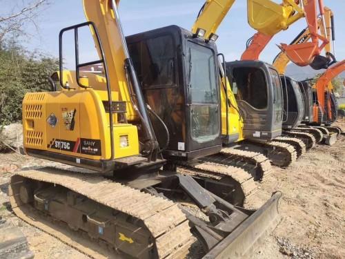 南宁出售三一重工135、215和235等二手挖掘机,全国联保购机包运