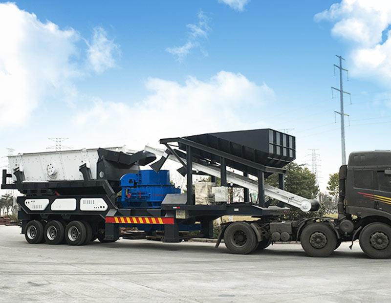 供应雄鼎制砂设备云南移动打砂机 云南移动打砂机厂家 云南移动制砂设备