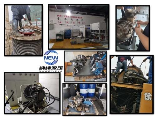维修三一A11VLO拖泵修理保养