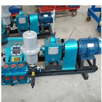 供应蓝江BW150桥梁桩基用注浆机BW150卧式注浆机三缸往复式灌浆机