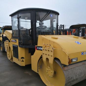 徐工8吨10吨二手双钢轮振动压路机多少钱