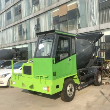供应宜迅YX-3500搅拌运输车 3.5立方 自制混凝土搅拌运输车 小型罐车