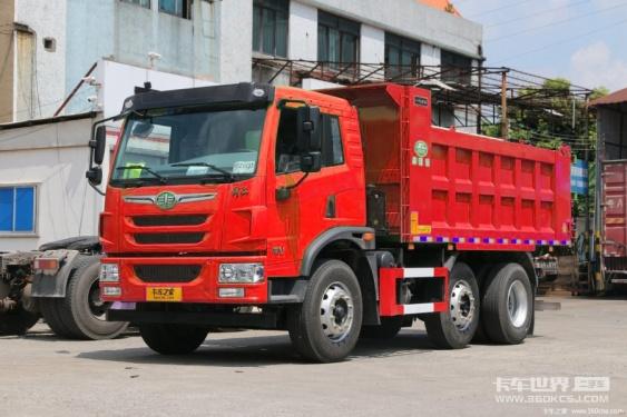 出售解放龙V6x2R自卸车 多载不违规才是用户的殷切期望