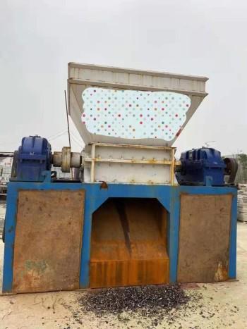 河南郑州出售二手1200型铁屑撕碎机配30kw电机3.5万