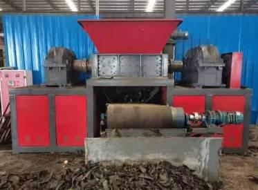 出售二手同丰机械1200型钢筋团子撕碎机1200型9.5万