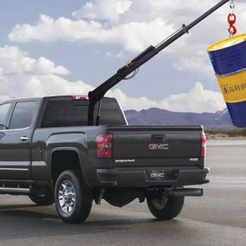 产地直发折臂式吊机 360度旋转折臂吊 蓝牌折臂吊