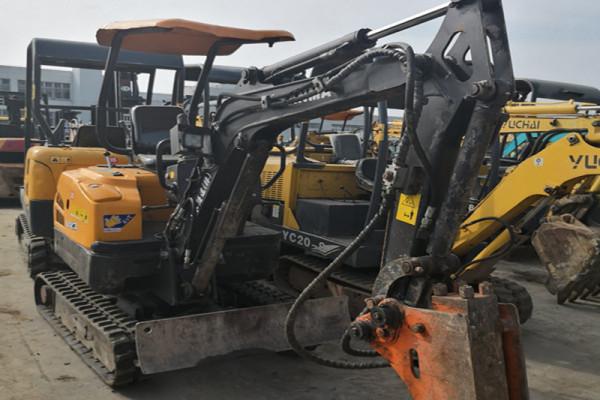黄山宣城|池州二手市场 优惠出售小松18、20、25二手挖掘机