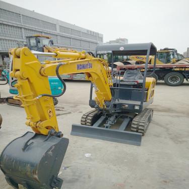 杭州|台州|温州二手挖掘机市场出售玉柴YC18-8小松25-7小型二手挖掘机