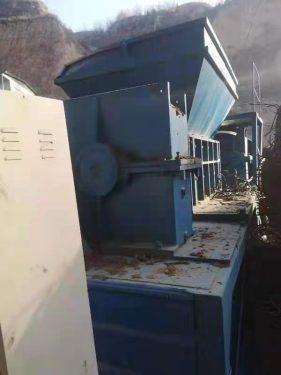 出售二手同丰机械1400型多功能撕碎机7万元现货