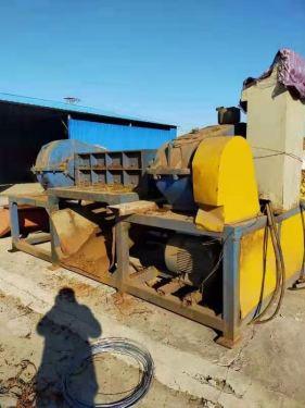 出售二手同丰机械1200型双轴撕碎机配45kw电机7.5万