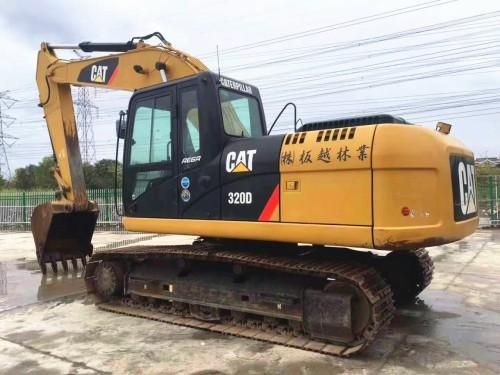 南宁挖掘机市场出售二手卡特320D、323、326和336D挖掘机,原装进口,大件包一年