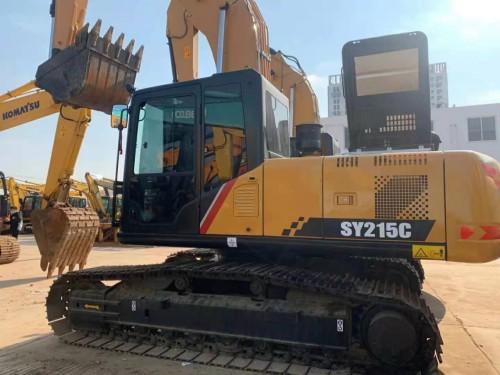 杭州周边,转让二手三一215、小松220、卡特320挖掘机,包运到家
