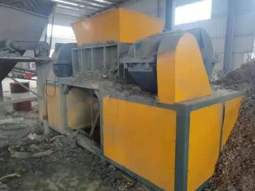 出售二手同丰机械1200型木材撕碎机械9万