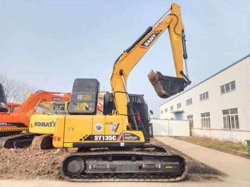 新疆转让三一75、135和215等新款二手挖掘机 全国联保