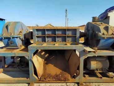 出售二手同丰机械1200型金属撕碎机7.5万现货