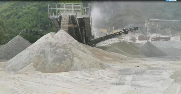 出租移动式制砂机, 移动打砂机, 打砂设备, 制砂设备, 经济实惠,产量大,效率高