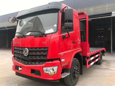 180平板运输车  短轴挖机平板运输车  150平板运输车