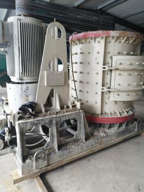 出售二手制砂设备立轴制砂机青石制砂机变频启动柜